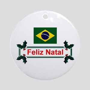 Brazil Feliz Natal Keepsake Ornament