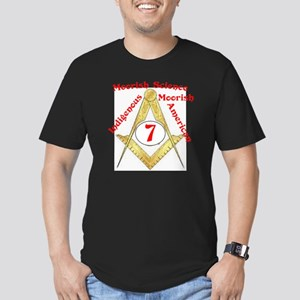 Mo Sense Series Men's Fitted T-Shirt (dark)