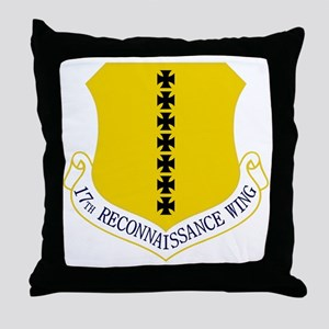 17th Training Wing Throw Pillow