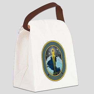 USS Lassen Canvas Lunch Bag