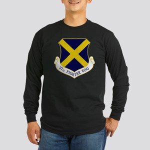 37th Fighter Wing Long Sleeve Dark T-Shirt