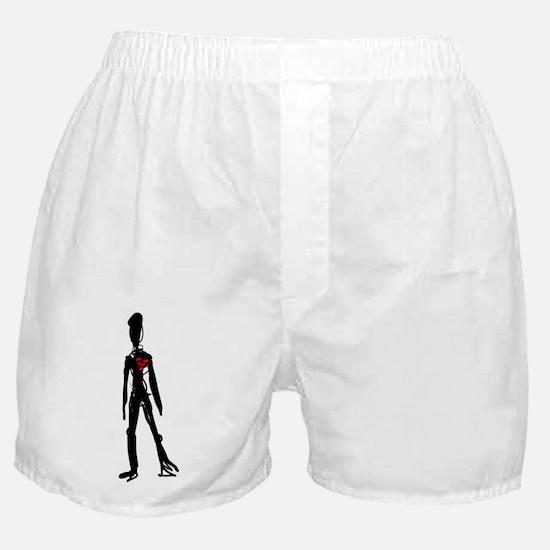 Marfanoid figure Boxer Shorts