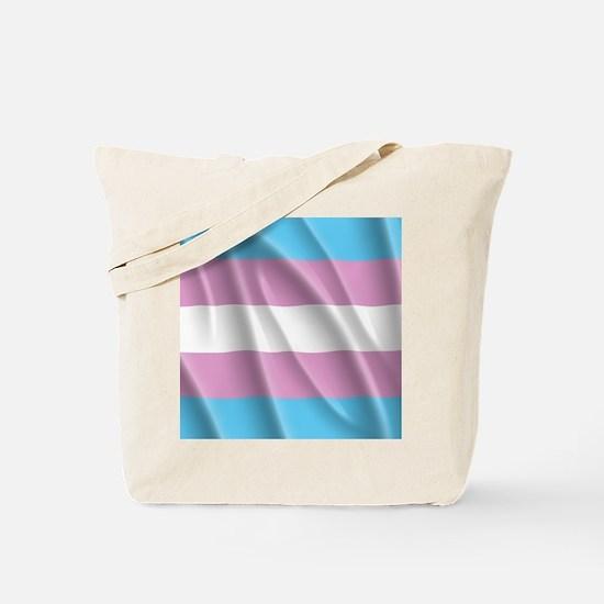 TRANSGENDER FLAG Tote Bag