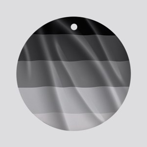 STRAIGHT PRIDE FLAG Round Ornament