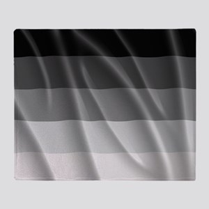 STRAIGHT PRIDE FLAG Throw Blanket