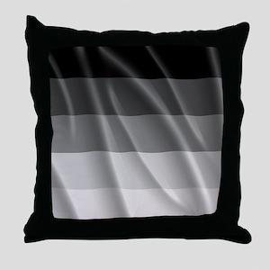 STRAIGHT PRIDE FLAG Throw Pillow