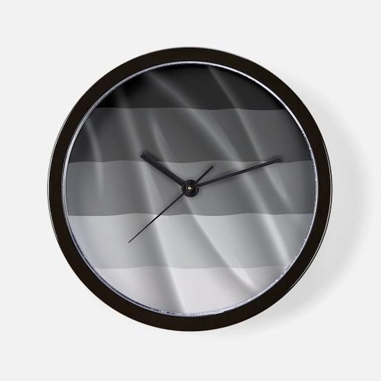 STRAIGHT PRIDE FLAG Wall Clock