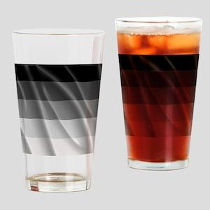 STRAIGHT PRIDE FLAG Drinking Glass