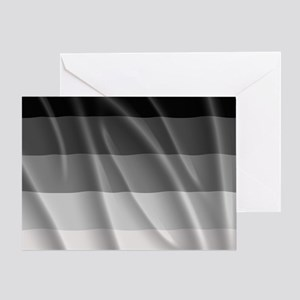 STRAIGHT PRIDE FLAG Greeting Card