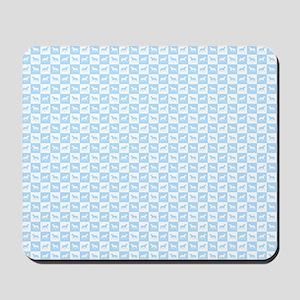 Blue horses Mousepad