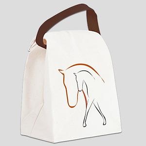 Pferd Canvas Lunch Bag