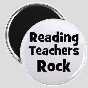 Reading Teachers Rock Magnet