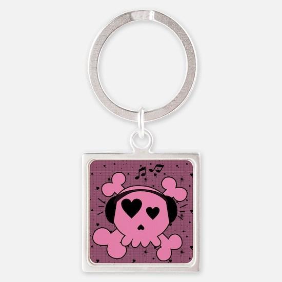 ms_calendar_print Square Keychain