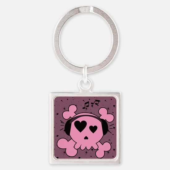 ms_notepads_719_H_F Square Keychain
