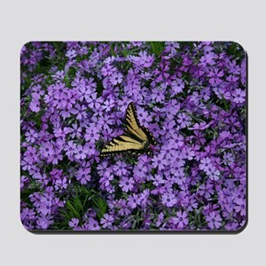 Spring Butterfly Visitor Mousepad