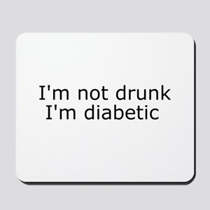 Diabetic Info Mousepad