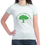 Earth Day : Officially Gone Green Jr. Ringer T-Shi
