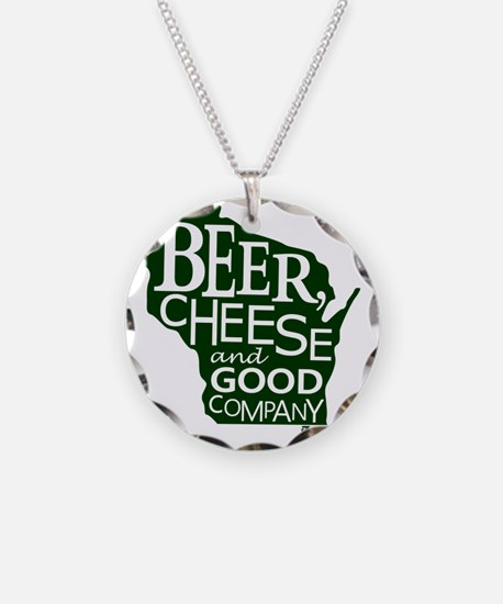 Beer, Chees & Good Company i Necklace