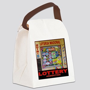 LOTTERY ARGENTINA Canvas Lunch Bag