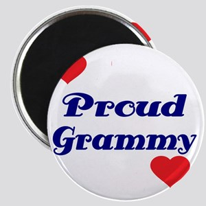 Proud Grammy  with hearts Magnet