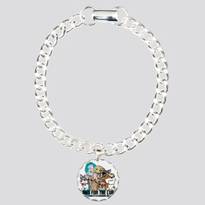 Tourettes Syndrome Puppy Charm Bracelet, One Charm