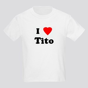 I Love Tito Kids Light T-Shirt