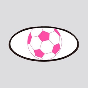Pink Soccer Ball Patches