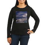 Mountain Art Women's Long Sleeve Dark T-Shirt