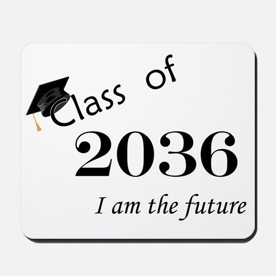 Born in 2014/Class of 2036 Mousepad