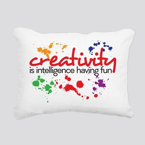 creativity Rectangular Canvas Pillow