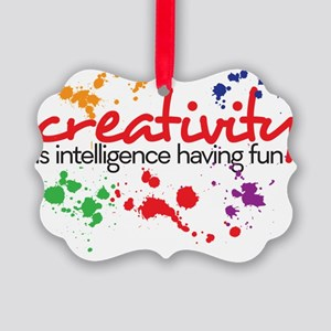 creativity Picture Ornament