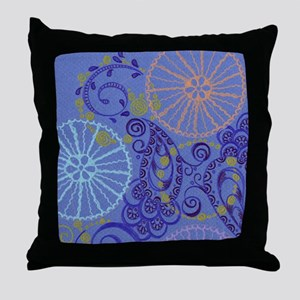 Life in Gear Throw Pillow