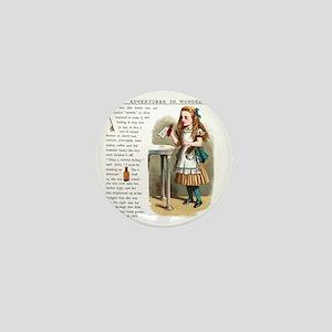 Alice in Wonderlan Drink Me Mini Button
