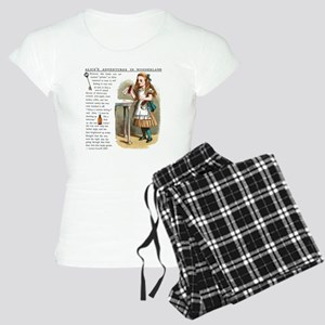 Alice in Wonderlan Drink Me Women's Light Pajamas