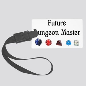Future Dungeon Master Large Luggage Tag