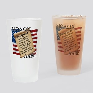 Second Amendment 2 Dark Drinking Glass