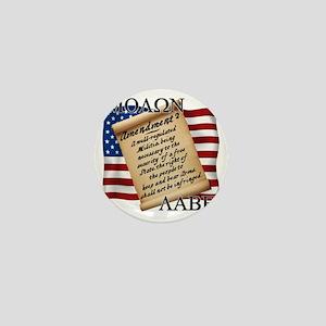 Second Amendment 2 Dark Mini Button