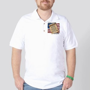 Second Amendment 2 Dark Golf Shirt