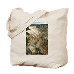 Grand Canyon of the Yellowstone River Tote Bag