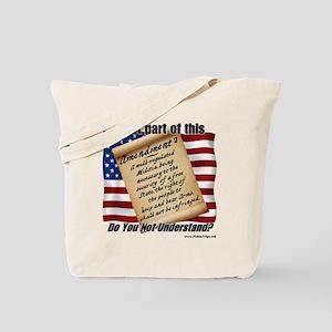 Second Amendment 1 Tote Bag