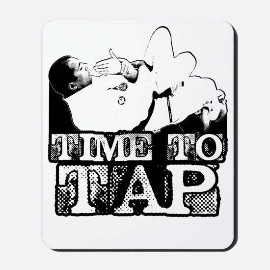 Time To Tap Mousepad