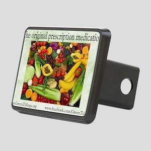Original Medication Rectangular Hitch Cover