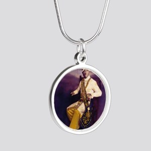 Mo Sense Series Silver Round Necklace
