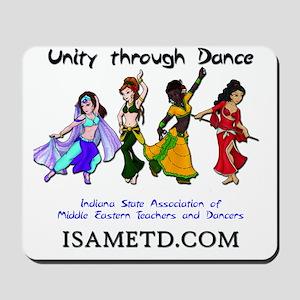 ISAMETD - Unity Through Dance Mousepad