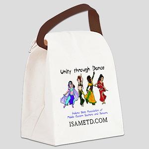 ISAMETD - Unity Through Dance Canvas Lunch Bag