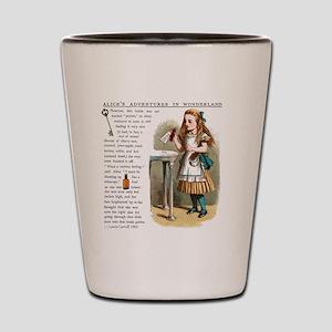 Alice in Wonderlan Drink Me Shot Glass