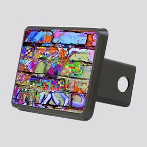 The Wow Abstract Wall Rectangular Hitch Cover