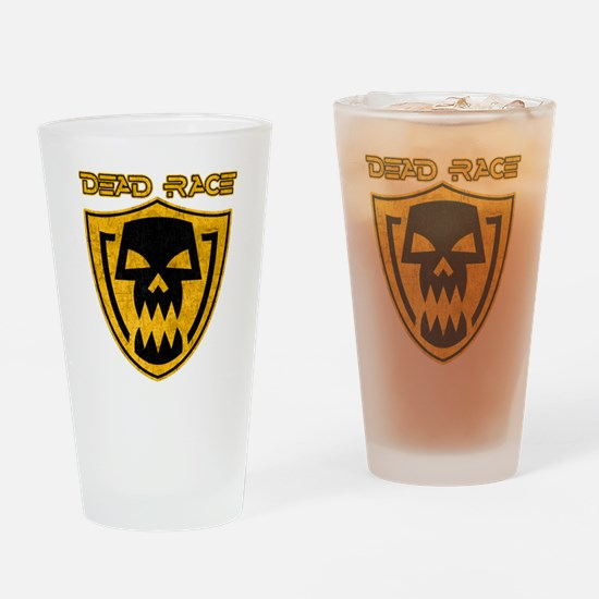Dead Race grunge Drinking Glass