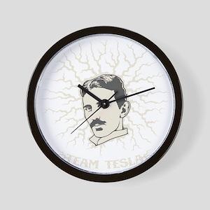 team-tesla-DKT Wall Clock