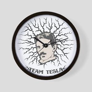 team-tesla-LTT Wall Clock
